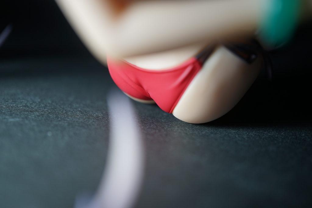 イラストのモデリングに使える冴えカノ澤村・スペンサー・英梨々のセクシー水着のフィギュアのお尻の接写